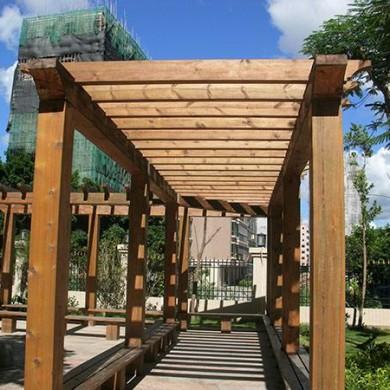 湖南景飛戶外園林防腐木供應及工程承接